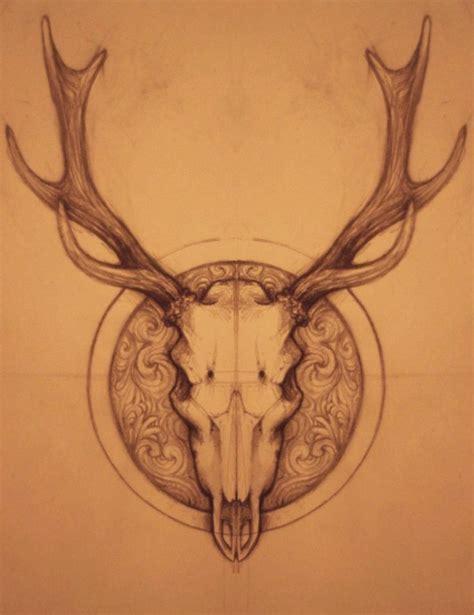 deer skull tattoos lovetoknow deer skull by namisis d51mwm2 png 784 215 1019 my to do