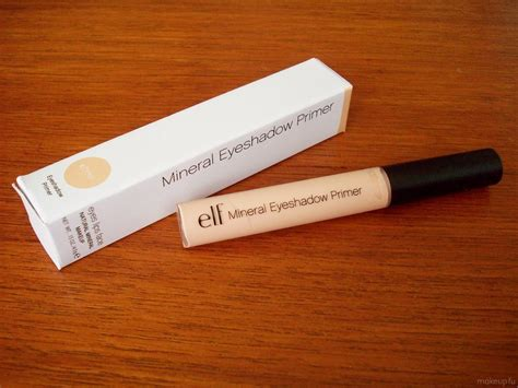 E L F Mineral Eyeshadow Primer e l f cosmetics mineral eye shadow primer reviews in eye