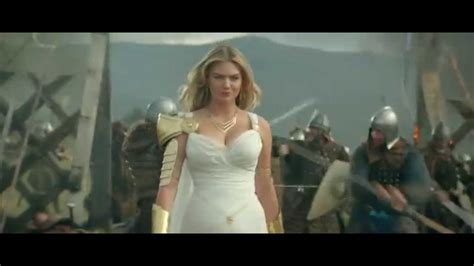 commercial actress game of war game of war fire age commercial kate upton
