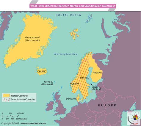 map of scandinavian countries scandinavian countries www pixshark images