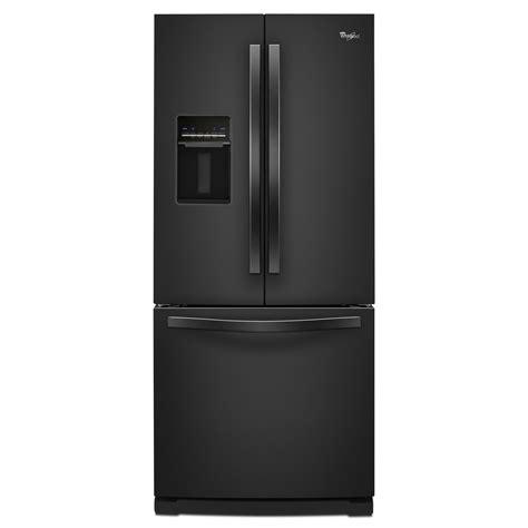 door refrigerator sears outlet whirlpool wrf560seyb 19 7 cu ft door black