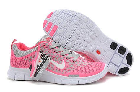nike free 5 0 s running shoe pink gray white nike