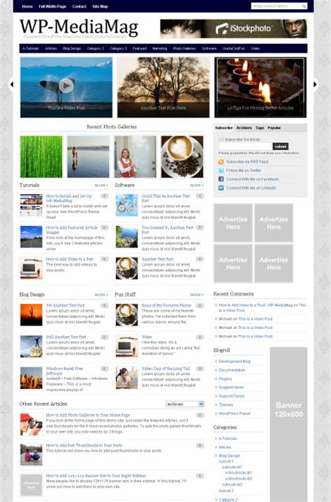 themes wordpress journal 100 magazine wordpress themes cool wordpress magazine