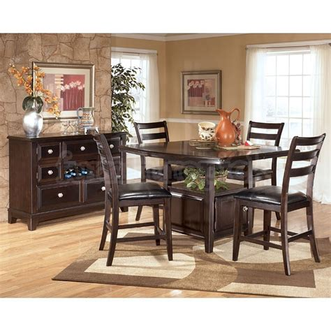 furniture make a statement in the dining room with three dining room sets at ashley furniture marceladick com