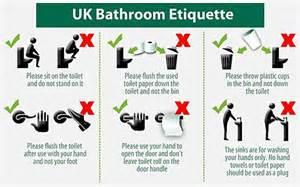 bathroom edicate importancia de mantener los ba 209 os limpios
