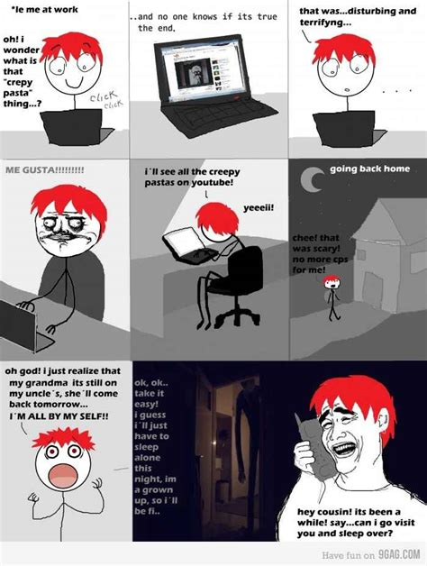 Creepypasta Memes - creepypasta meme by memegustas memedroid