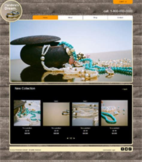 Free Website Templates Page 20 Handcrafted Jewelry Website Templates