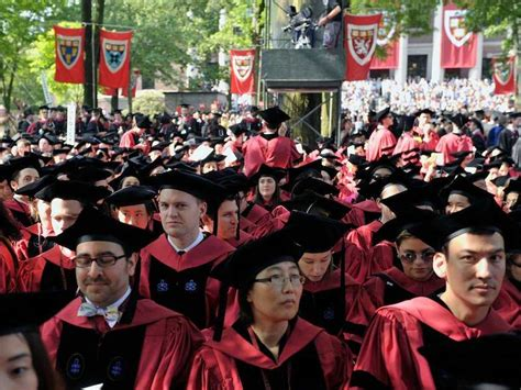 Harvard Mba Graduates Per Year by Harvard And Princeton Commencement Feature Student