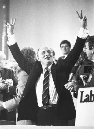 Neil Kinnock, 1980s. at Science and Society Picture Library