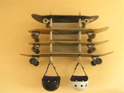 How To Rack 6 Easy Steps How To Make A Skateboard Rack
