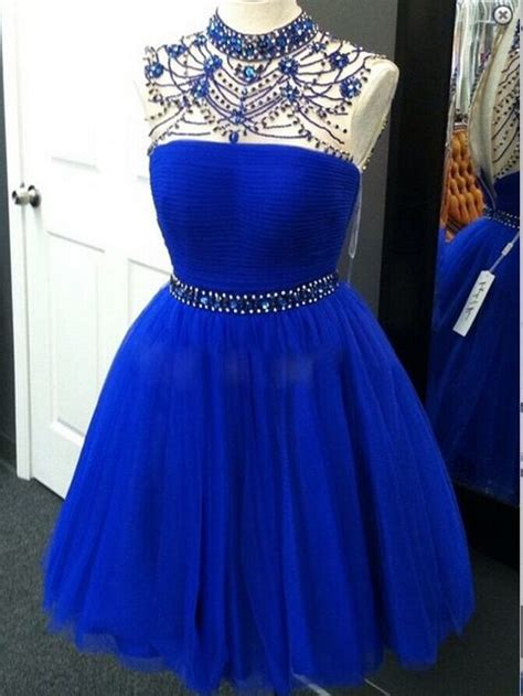 arrival royal blue prom dresses sexy open  grey