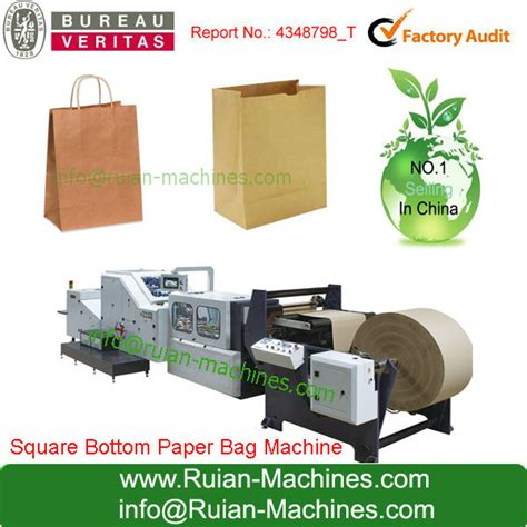 Cost Of Paper Bag Machine - wholesale leading manufacturer square bottom paper bag