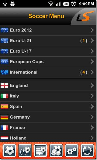 livescore mobile app official livescore app brings live sports scores to android