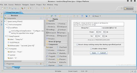 eclipse swing gui adding easy guis to aggressor scripts