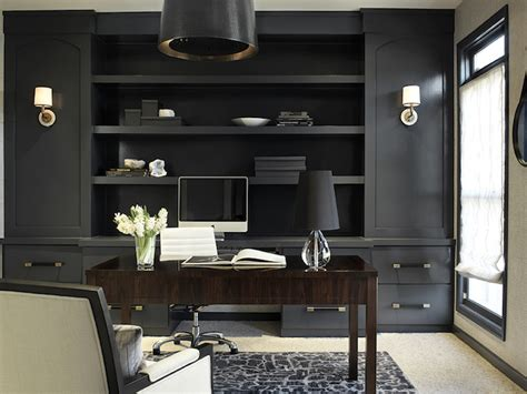 black built ins gold and black french desk with black french round black
