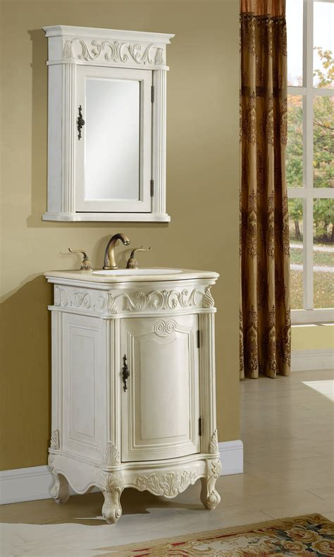 21 Bathroom Vanity 21 Quot Antique White Bath Vanity Antique Recreations