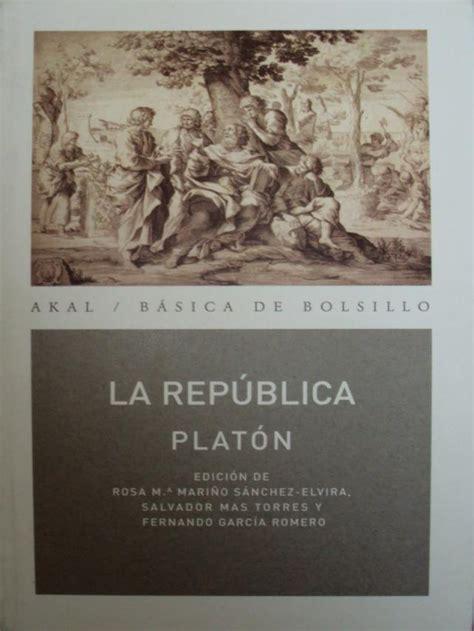 libro por qu la repblica ranking de 191 cu 225 l es la mejor obra de plat 243 n listas en 20minutos es