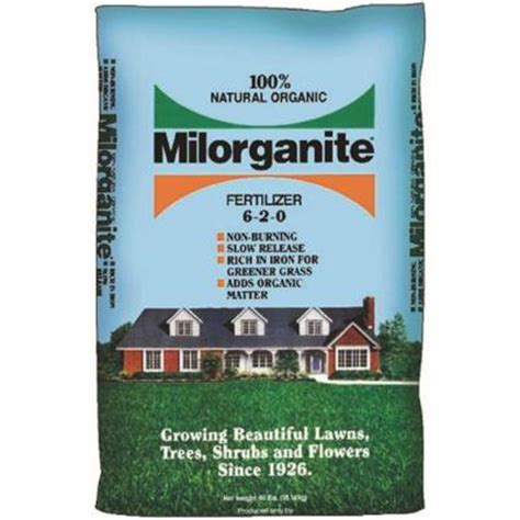 milorganite 36 lb organic nitrogen fertilizer 004262
