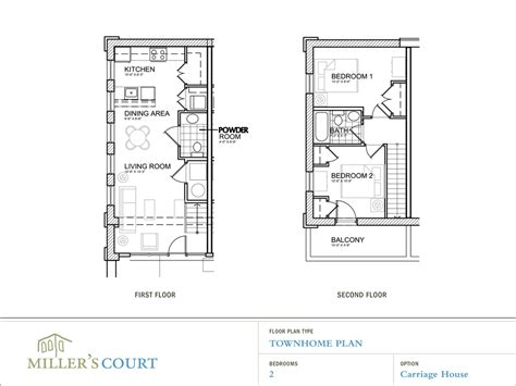 2 Story Apartment Plans floor plans floorplans small apartment