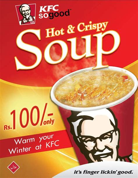 Soup Kfc kfc offers and crispy soup in just rs 100 restaurant images kfoods