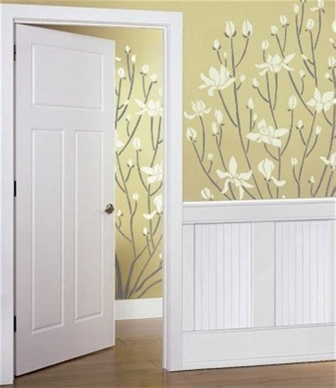 stencils for walls patterns flowers trees by olive