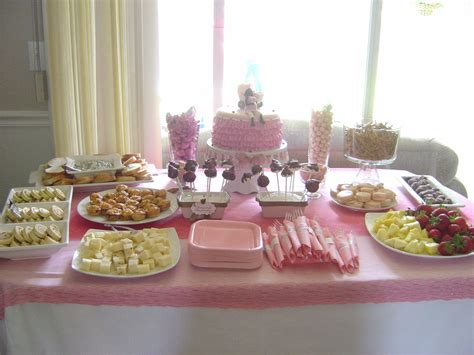 Baby Shower Table by Table Setup For A Baby Shower Saturday June 05 2010