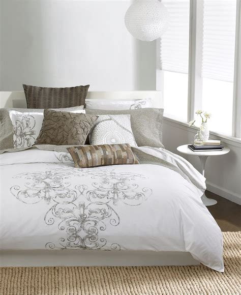 bedding at macy s bar iii bedding vintage scroll twin from macy s