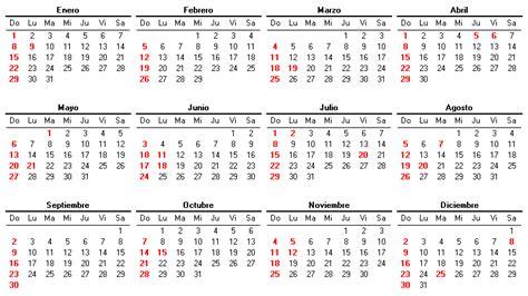 Fin Calendario 2012 Calendario 2012 Nominas