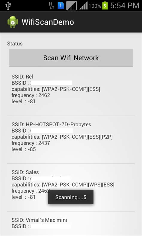 tutorial android wifi android tutorials and tips how to scan for wifi networks