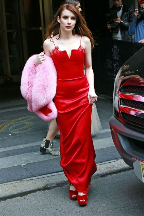film met emma roberts emma roberts leaving the carlyle hotel on her way to the