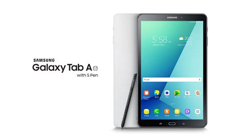 Galaxy Tab A With S Pen Samsung S New Galaxy Tab A 6 10 1 S Pen