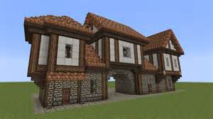 minecraft altes haus minecraft fachwerkhaus half timbered house 2