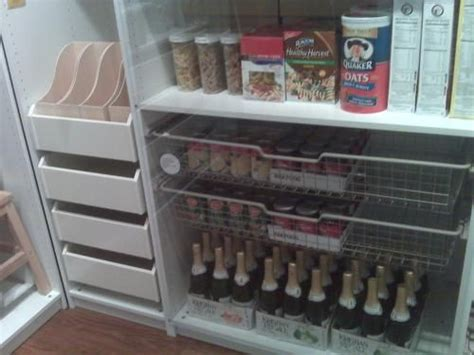 ikea pax wardrobe as kitchen pantry for the home