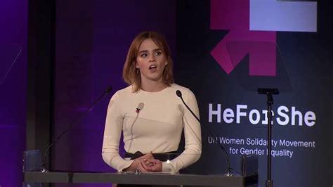 emma watson speech transcript emma watson speech for heforshe second year anniversary