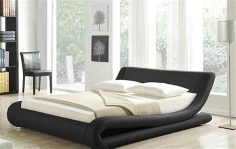 modern leather beds amari modern designer leather bed