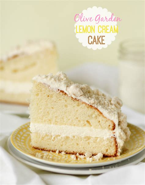 Olive Garden Lemon Cake Recipe by Olive Garden Lemon Cake
