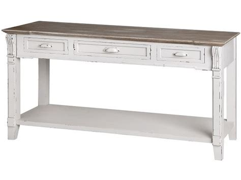 distressed white sofa table console table white distressed home design ideas