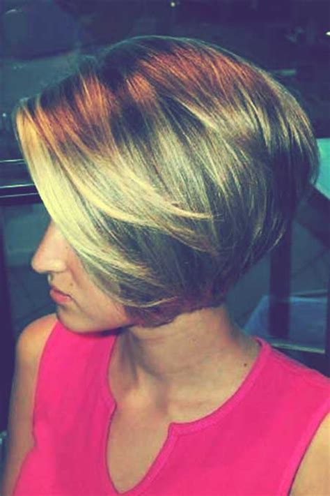 Short Bob Styles With A Subtle Stacking | 1000 images about hair raising ideas on pinterest bob