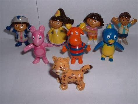 Backyardigans Figures Backyardigans Toys Nick Jr Television Figure Set