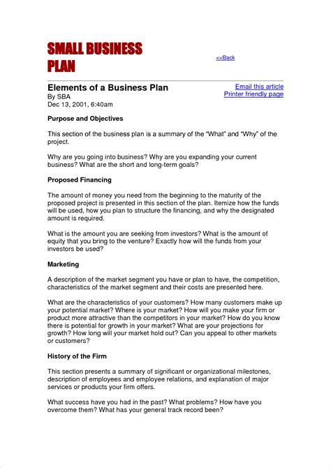small business proposal template business proposal