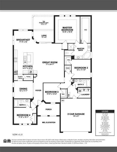 beazer home plans ashwood beazer homes singlestory 4bedrooms 3bathrooms