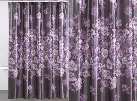 purple flower curtains beautiful floral patterns and trends for 2013