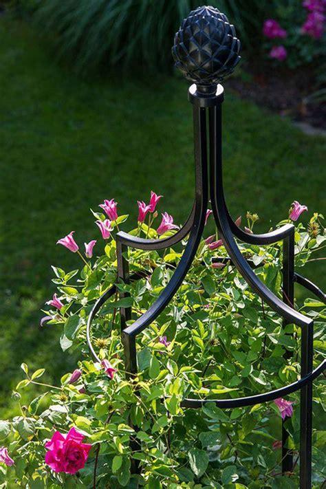 garten obelisk  rankobelisk aus metall classic garden