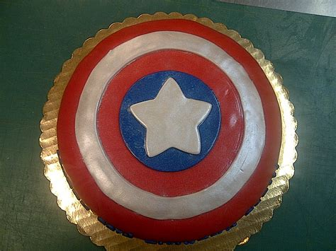 captain america shield cake ideas and designs