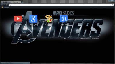 chrome theme avengers the avengers chrome themes themebeta