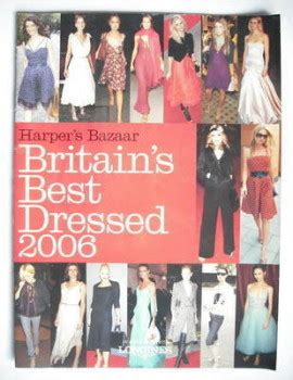 Harpers Baazars Best Dressed Of 2007 by Harpers Bazaar Magazine Back Issues Uk For Sale Page 5