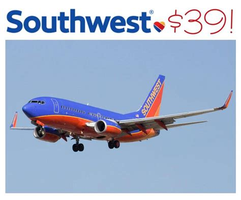 southwest airlines flights deals as low as 39
