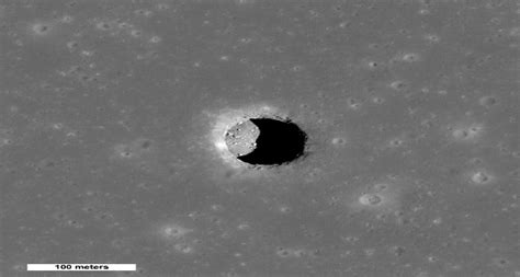 Moon And Pit researchers propose astronauts will live in moon caves paper droids