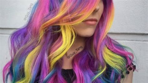 usinghair cls guy tang the stylist behind the rainbow hair trend