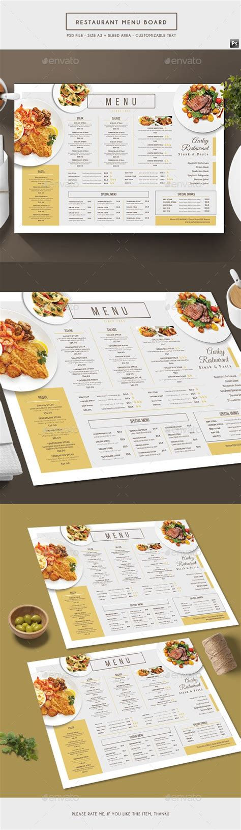 25 best ideas about restaurant menu boards on pinterest